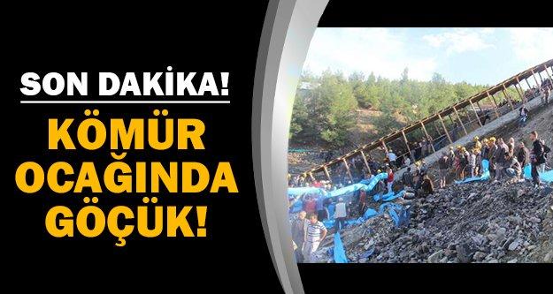 18 işçi ocakta mahsur kaldı!