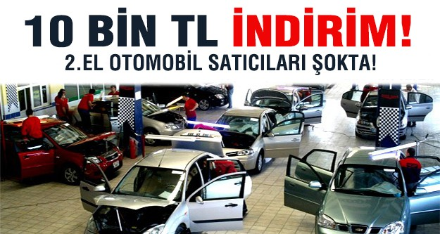 2013 modellerde 10 bin TL indirim