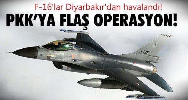 F-16'lar Kandil'e bomba yağdırdı!