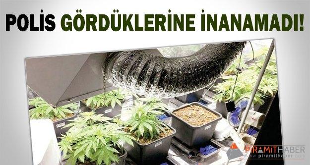 Rezidansta uyuşturucu atölyesi!