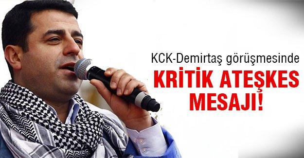 İşte PKK'nın isteği!