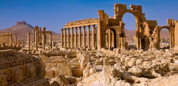 Palmira'nın sırları IŞİD'in elinde olabilir!