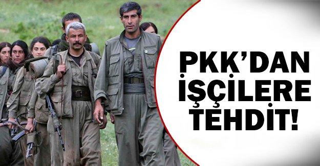 PKK'dan açık tehdit!