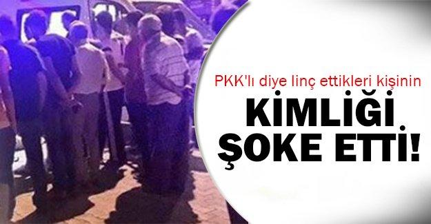 PKK'lı zannettiler ama..
