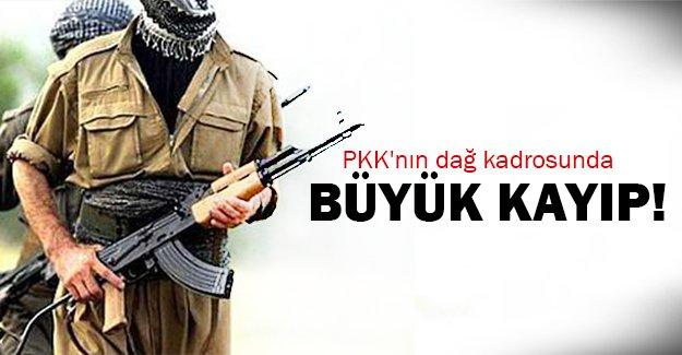 PKK'nın dağ kadrosu çöktü!