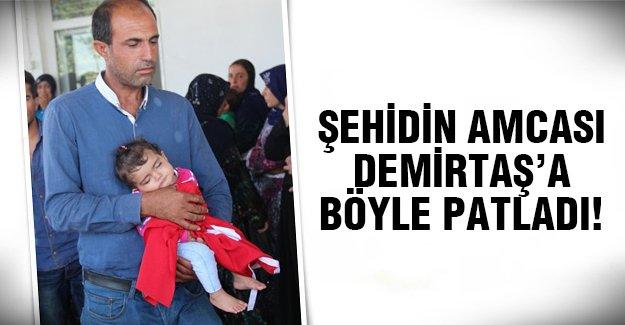 Selahattin Demirtaş'a tepki gösterdi!