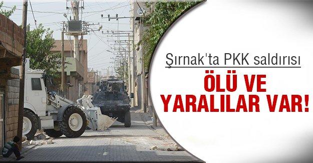 Şırnak'ta çatışma çıktı!