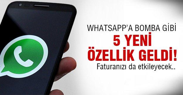 WhatsApp bugünden itibaren..