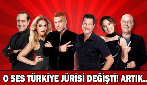 O Ses Türkiye'de sürpriz değişiklik!