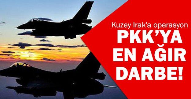 TSK'dan Kuzey Irak operasyonu!