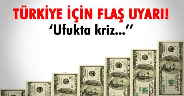 Türkiye'yi bekleyen kriz!