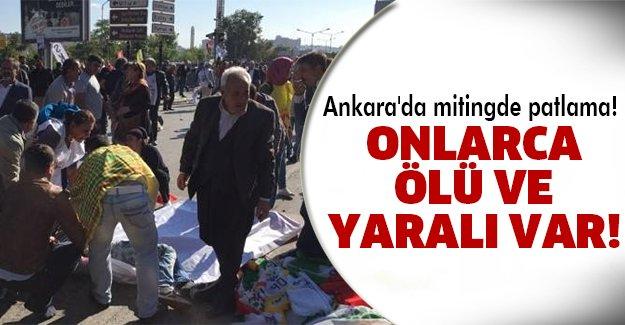 Ankara'da katliam!