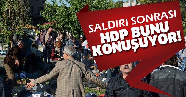 Ankara Garı'ndaki patlamanın ardından HDP...