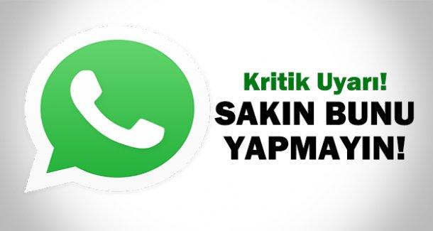 Whatsapp öyle bir şeye neden oluyor ki!