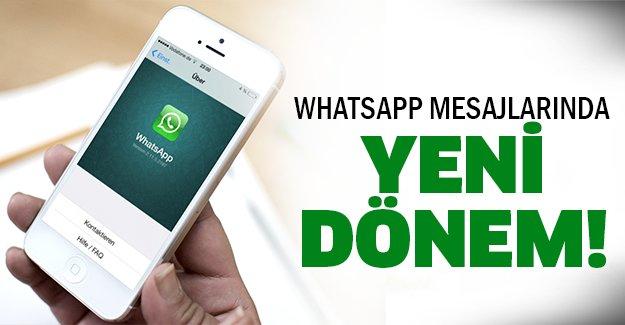 Whatsapp'ta bundan sonra...