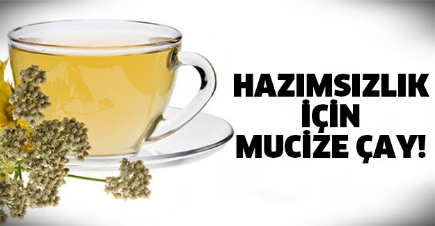 Hazımsızlık için çay tarifi..