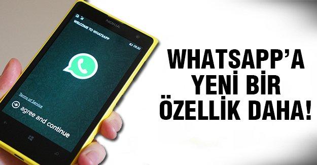 Artık Whatsapp'la bunu yapabilecekesiniz!