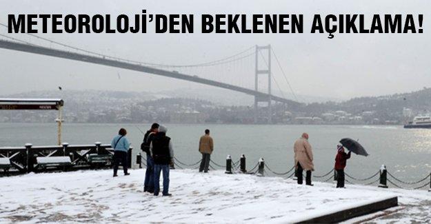 İstanbul'a yılbaşında kar yağacak mı?