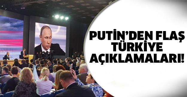 Putin'den şok sözler!