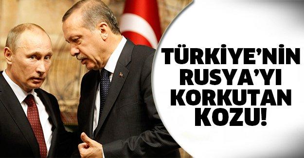 Türkiye'nin Rusya'ya karşı büyük kozu..