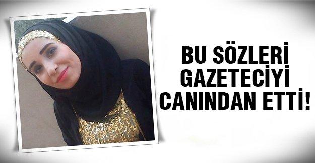 Genç gazeteci öldürüldü!
