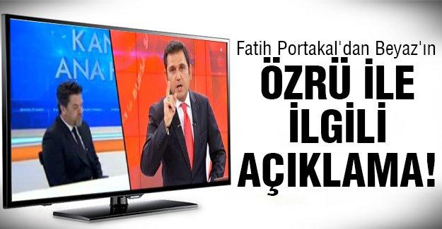 İşte Fatih Portakal'ın o açıklaması!