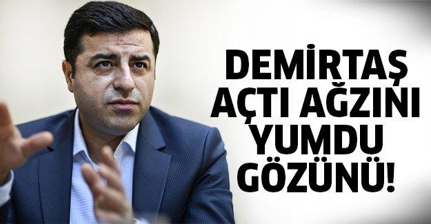 Demirtaş'tan olay sözler!