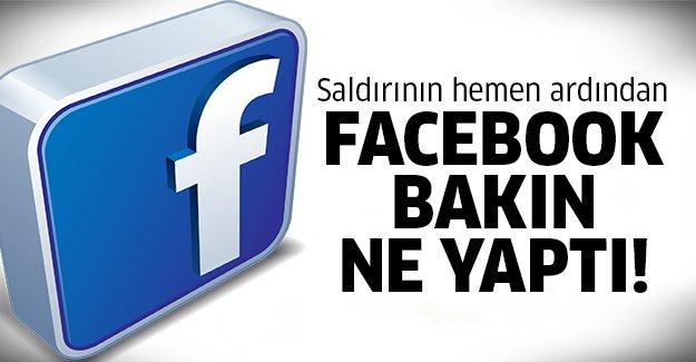 Facebook Ankara'da ki saldırıdan sonra..