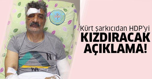 Kürt şarkıcıdan bomba iddia!