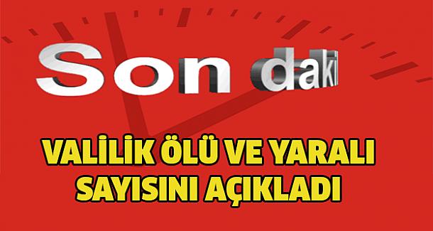 Valilik Ankara'daki patlamada ölü ve yaralı sayısını açıkladı