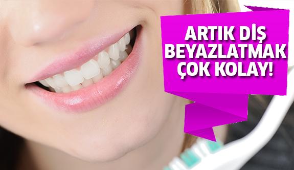 Evde diş beyazlatma yöntemleri!