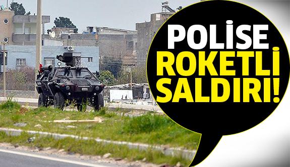 PKK üyeleri roketatarla saldırdı!