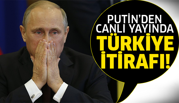 Şok Türkiye itirafı!