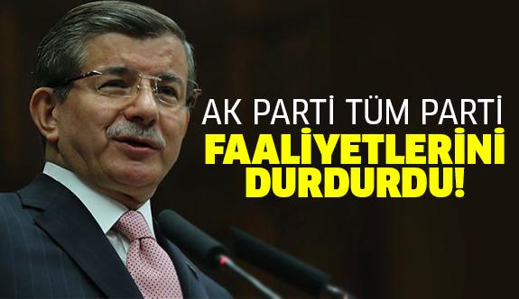 Ahmet Davutoğlu son kez..