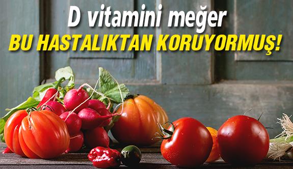 D vitamini eksikliğine dikkat!