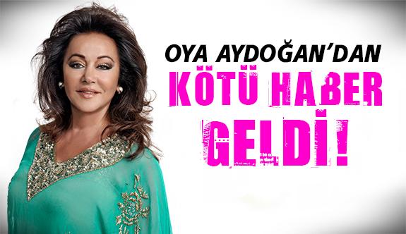 Hastaneden flaş Oya Aydoğan açıklaması!