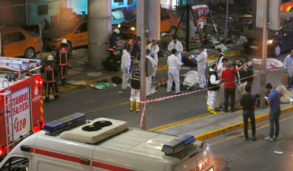 Saldırıyı IŞİD'in üstlendiğini iddia etti!