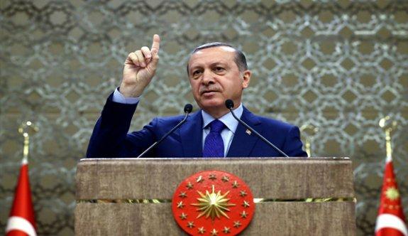 İşte Erdoğan'ın o mesajı!