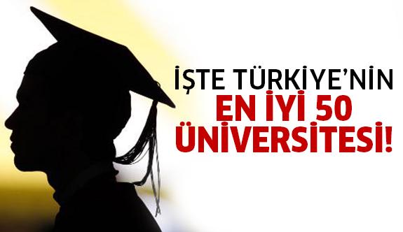 2016 nın en iyi üniversiteleri açıklandı!