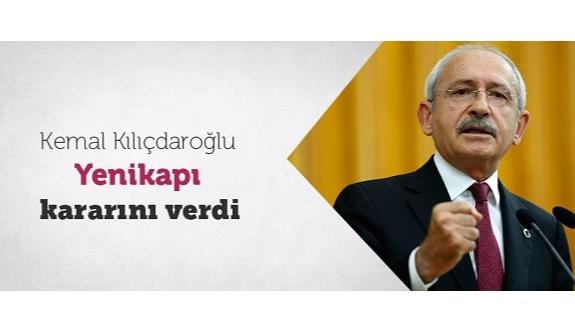 CHP lideri Kılıçdaroğlu Yenikapı kararını verdi!