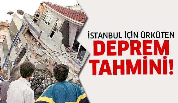 Deprem açıklaması korkuttu!