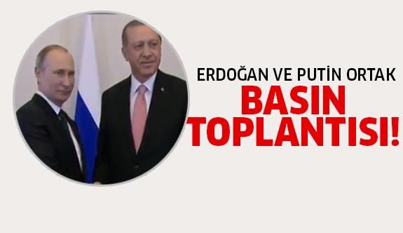 Erdoğan-Putin aylar sonra yan yana!