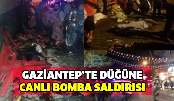 Gaziantep'te canlı bomba saldırısı