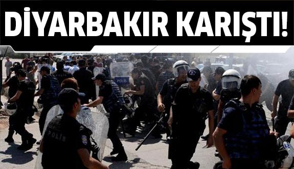Diyarbakır'da ortalık savaş alanı!