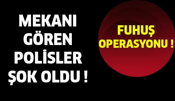 Adana'da ki Bekçi Kulübesine Fuhuş Baskını !