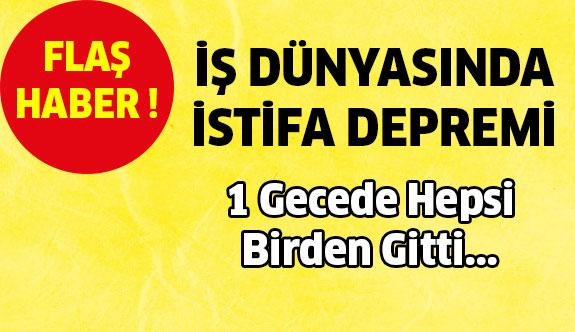Ankara'da İstifa Depremi ! 1 Gecede Hepsi Birden Gitti...