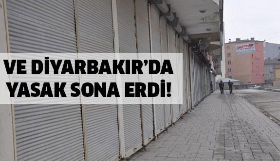 Diyarbakır'da yasak sona erdi...