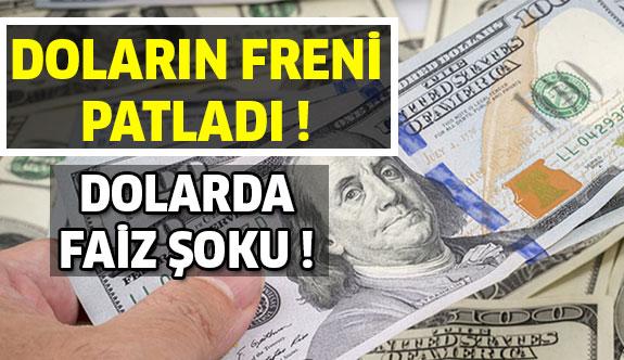 Dolarda Rekor Faiz !