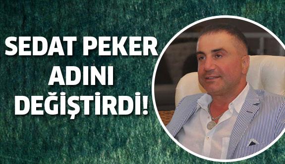 İşte Sedat Peker'in yeni adı...