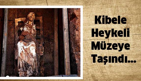 Ordu'da ki Kibele Heykeli Müzeye Taşındı...